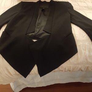 Bcbg Candice black suit jacket xs